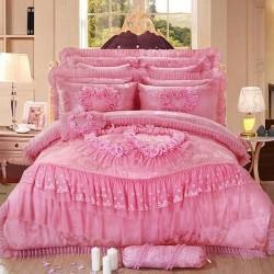Сватбено спално бельо - микс от традиция и модерност