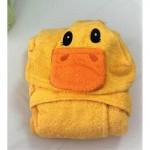 Микропамучен детски халат за баня - Duck