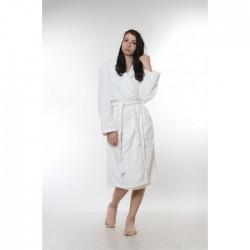 Универсален халат - 100% Висококачествен Памук - White