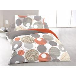 Прекрасен спален комплект със завивка - 100% Памук Ранфорс Amelie