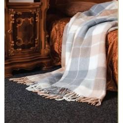 Топло вълнено одеяло Comfort Grey