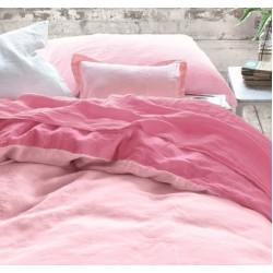Монохромен спален комплект - 100% Памук Ранфорс - Pinky