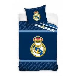Ефектно спално бельо 3D - 100% Ранфорс Памук - Real Madrid