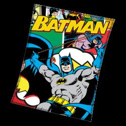Първокласно одеяло Batman Super Hero