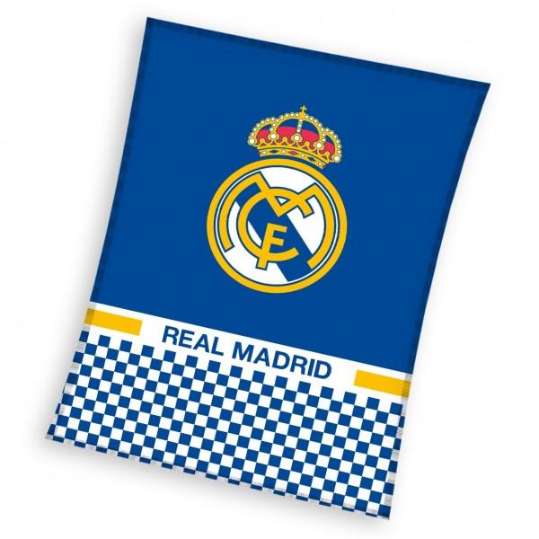 Първокласно одеяло Real Madrid
