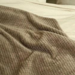 Оригинално одеяло на вафлички Brown