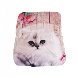 Пухкаво одеяло за бебе Little Kitten