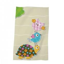 Детска кърпа хавлиена 30/50 Little Turtle
