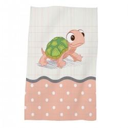 Забавна хавлиена кърпа за дете 30/50 Turtle