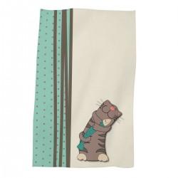 Хавлиена кърпа за дете 30/50 Cat With A Fish