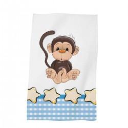 Забавна хавлиена кърпа за дете 30/50 The Мonkey