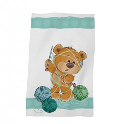 Забавна хавлиена кърпа за дете 30/50 Bear