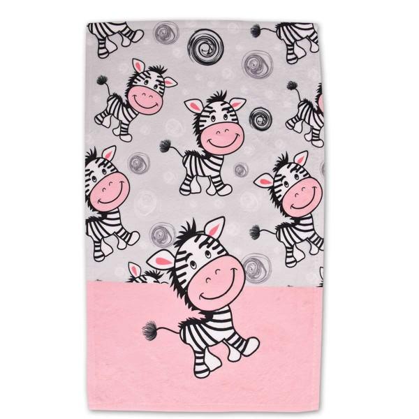 Детска хавлиена кърпа за дете 30/50 Zebra
