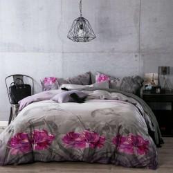 Комплект Спално Бельо за Голяма Спалня 3D - 100% Памучен Сатен - Alba