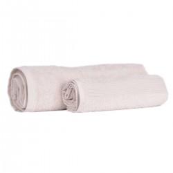 Малка хавлиена кърпа 30/50 - 100% Памук - Ecru