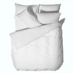 Бял Плик за Олекотена Завивка 150/220 - 100% Ранфорс Памук - White
