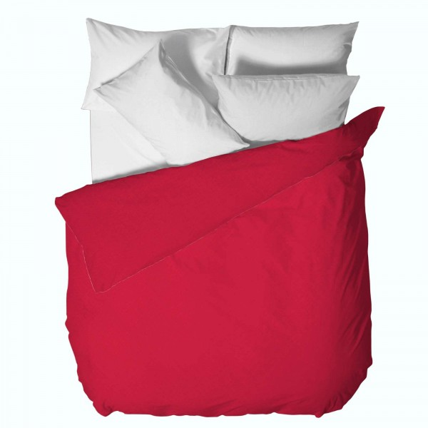 Модерен Плик за Олекотена Завивка 150/220 - 100% Ранфорс Памук - Red