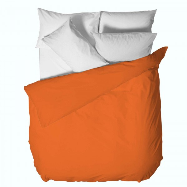 Памучен Плик за Олекотена Завивка 200/220 - 100% Ранфорс Памук - Orange