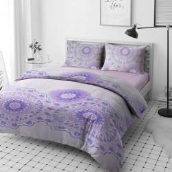 Комплект спално бельо 3D - 100% Ранфорс Памук - Mandalas