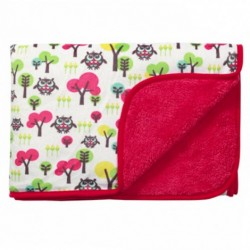 Стилно двулицево одеяло - 100% Микрофибър - Sweet Owl