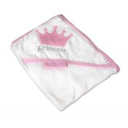 Луксозна хавлия за бебе - 100% Памук - Princess