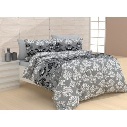 Стилно спално бельо  - 100% Памук - Vanetti Grey