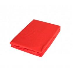 Комфортен чаршаф с ластик - 100% Памук&Еластан - Red