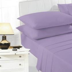 Долен чаршаф - 100% Памук - Purple