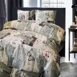 Стилно спално бельо - Памук - Adelle