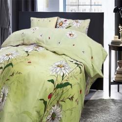 Бутиково спално бельо - 100% Памук - Daisy Green