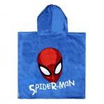 Бутиково пончо за дете - 100% Памук - Spiderman
