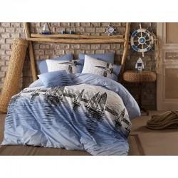 Първокласен спален комплект - 100% Памук Ранфорс - Cassandra