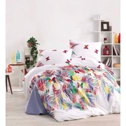 Уютно спално бельо - 100% Сатениран Памук Ранфорс - Aubrey