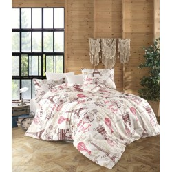 Памучен спален комплект от ранфорс памук - Peggy