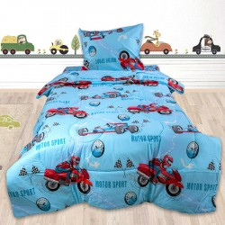 Изтънчено спално бельо - 100% Памук Ранфорс - Sport Spirit