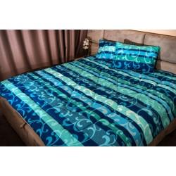 Стилно спално бельо - Памук - Ava