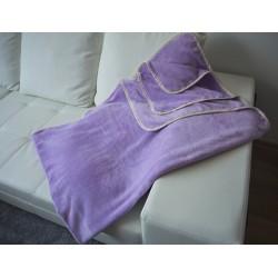Поларено одеяло Purple от корал-флис