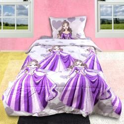 Изтънчено спално бельо - 100% Памук Ранфорс - Purple Fairy