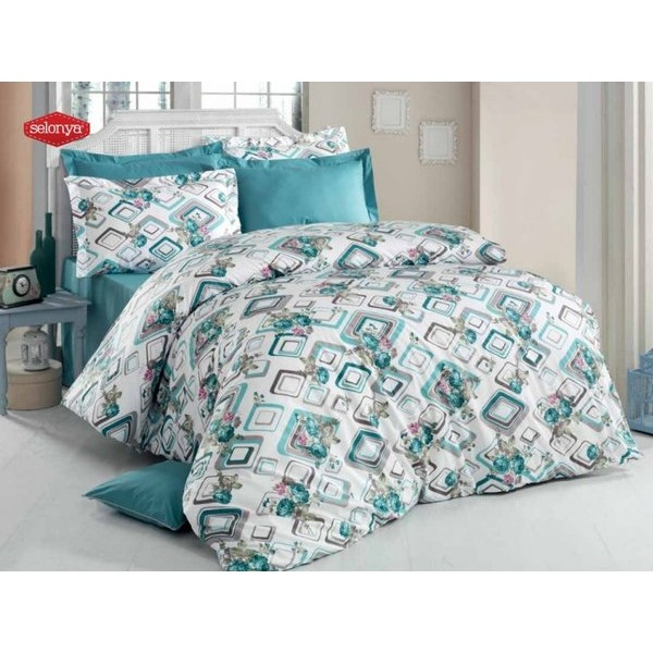 Модерен спален комплект - 100% Памук Ранфорс - Georgia