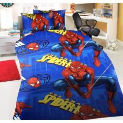 Елегантно спално бельо - 100% Памук Ранфорс - Cool Spiderman