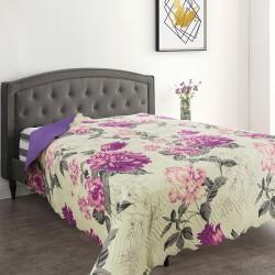 Грациозно шалте с две лица Purple Flower
