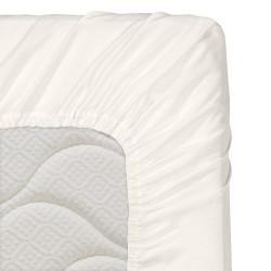 Долен чаршаф с ластик за бебе 60/120 - 100% Ранфорс Памук - Cream