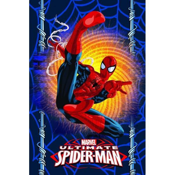 Зимно детско одеяло - 100% Полар - Spiderman