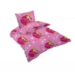 Памучно детско спално бельо - 100% Памук Ранфорс - Cute Girl