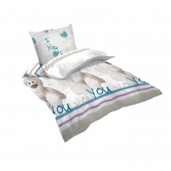 Памучно детско спално бельо - 100% Памук Ранфорс - Teddy