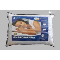 Анатомична възглавница - 100% Полиестерно Влакно - Lidia