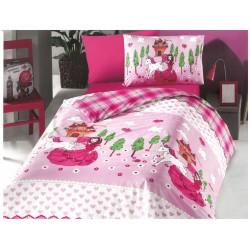 Фин спален комплект за дете 100% Ранфорс Памук - Princess&Unicorn