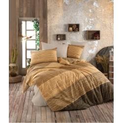 Стилизиран спален комплект - 100% Ранфорс Памук - Shelby