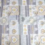 Спален комплект ПРОМО - 100% Микрофибър - Patchwork Silver