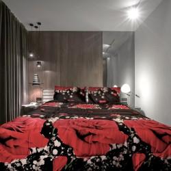 Артистично спално бельо 3D Rose Lover